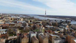 Vistas de la ciudad de Riga