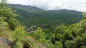 Ruta de las Nogaledas, en el Valle del Jerte