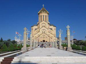 Catedral de la Santísima Trinidad, en Tiflis