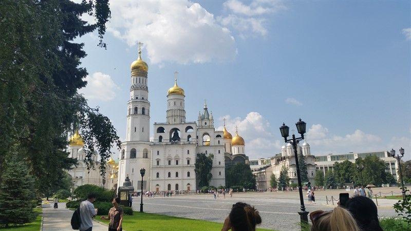 Catedrales en el Kremlin de Moscú