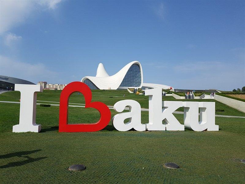 Centro Heydar Aliyev, en Bakú
