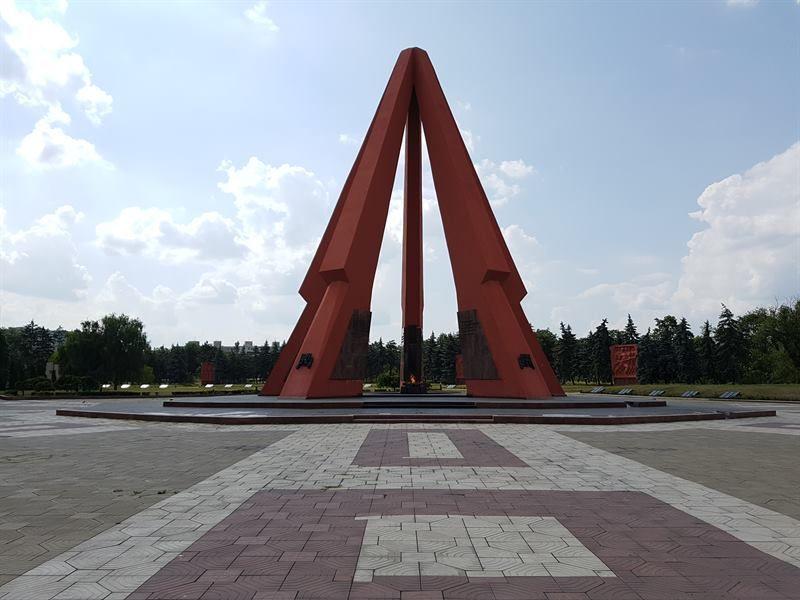 Complejo Memorial de la Eternidad, uno de los sitios que ver en Chisinau