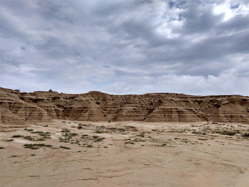 colinas erosionadas bárdenas reales