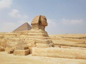 Esfinge y pirámides de Egipto