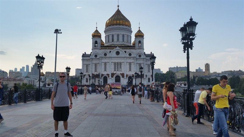 Catedral del Cristo Salvador, en la capital de Rusia