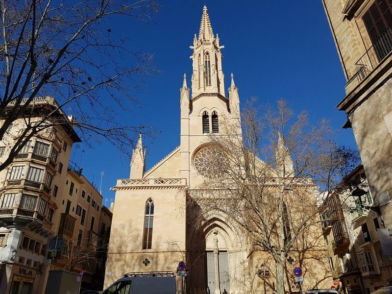 La iglesia de Santa Eulalia de Palma