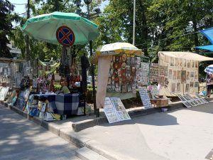 Kishinev Souvenir Bazaar