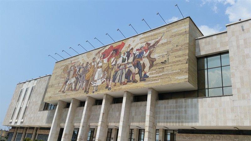 Mosaico del Museo Nacional de Historia de Albania
