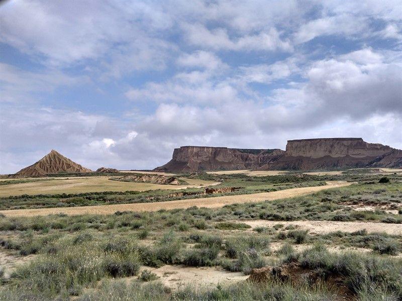 paisaje bárdenas reales navarra