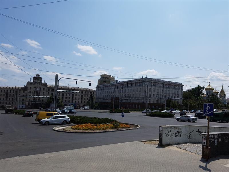 Plaza de la Independencia, en Moldavia