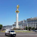 Transporte del aeropuerto de Tiflis al centro de la ciudad
