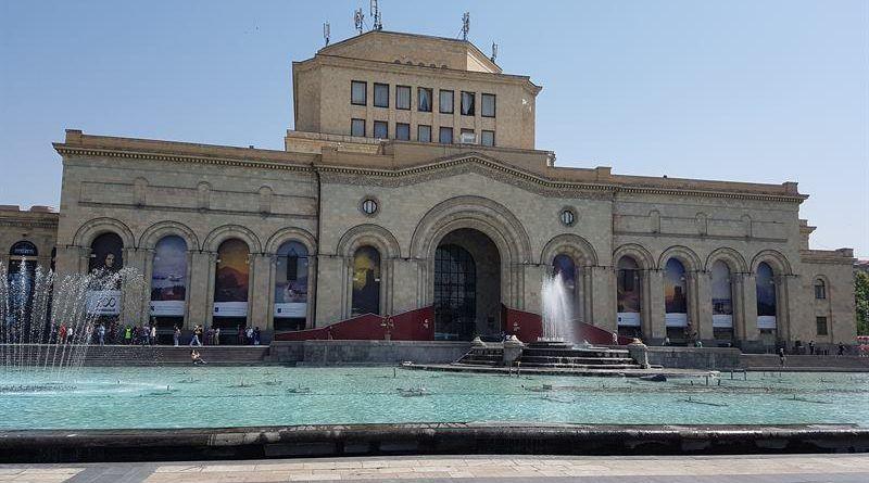 Plaza de la República, en Ereván
