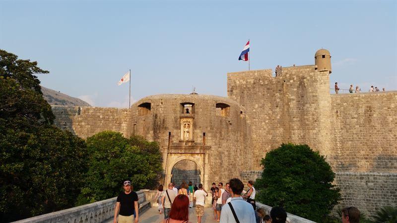 Puerta de Pile, en Dubrovnik