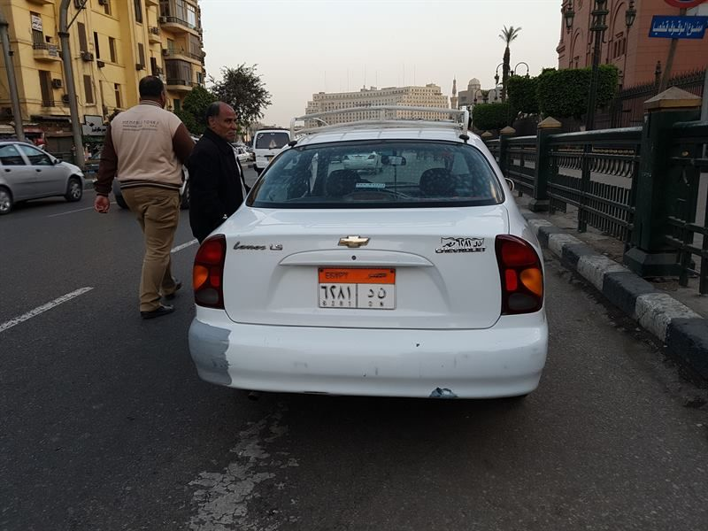 Taxi del aeropuerto de El Cairo a la ciudad