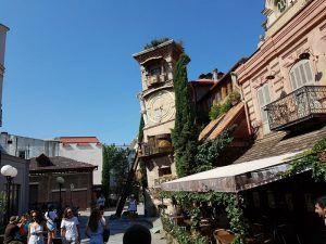 Torre del Teatro de las Marionetas, en Tiflis
