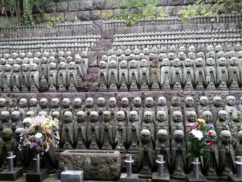 Budas pequeños de Kamakura