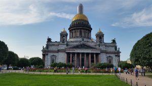 Catedral de San Isaac, en San Petersburgo