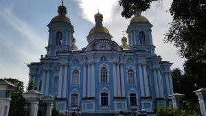 Catedral de San Nicolás, en San Petersburgo