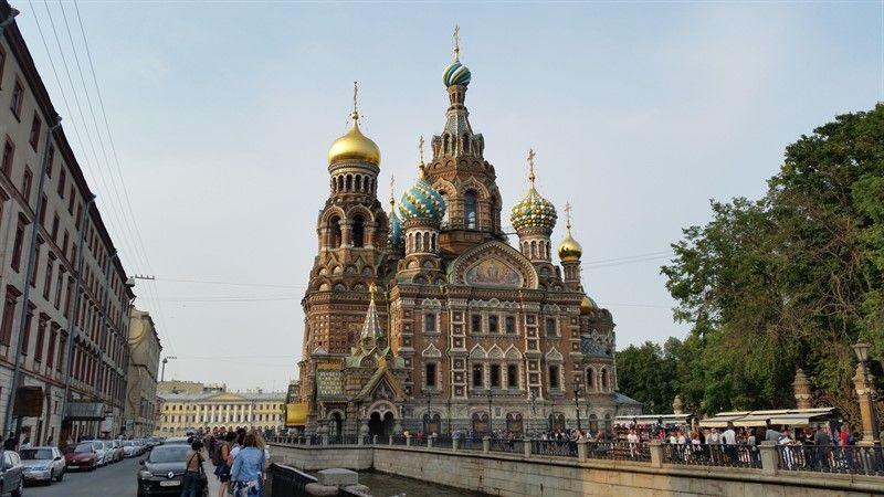 Catedral de la Sangre Derramada de San Petersburgo