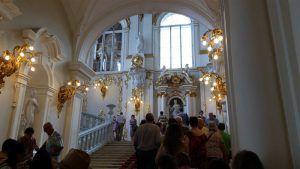 Escaleras del Museo del Hermitage