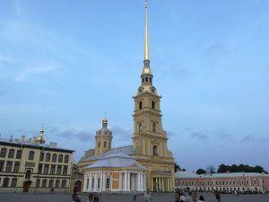 Fortaleza de Pedro y Pablo, en San Petersburgo