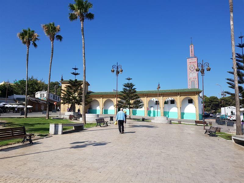 Plaza 9 de Abril de Tánger