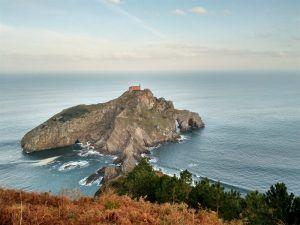vistas mirador San Juan de Gaztelugatxe