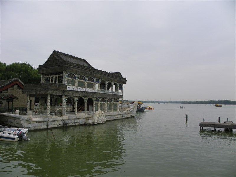 barco de marmol palacio de verano pekin
