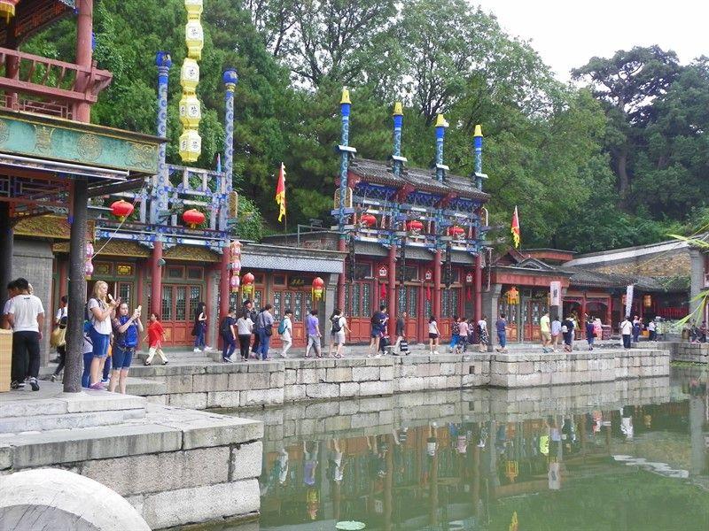 calle suzhou palacio de verano pekin