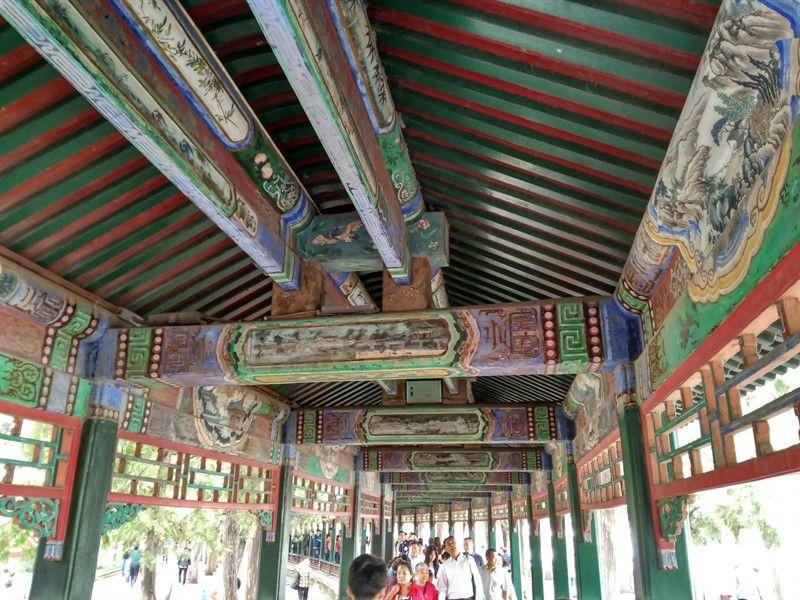 gran corredor palacio verano pekin