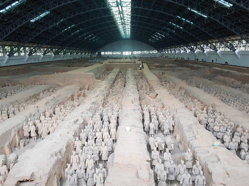 Los Guerreros de Terracota de Xian