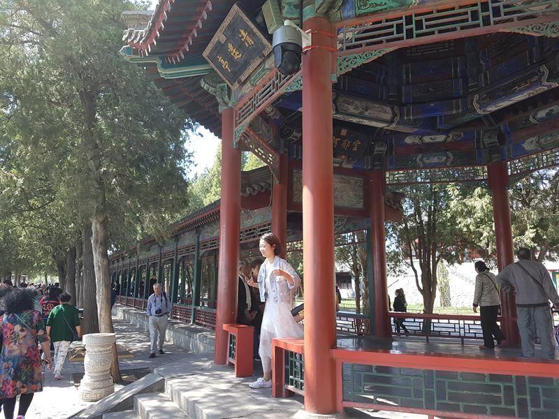 Gran Corredor del Palacio de Verano de Pekín