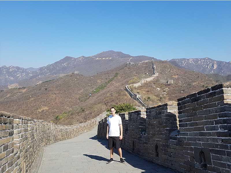 Gran Muralla China, en Mutianyu