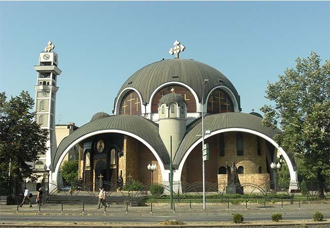 Iglesia de San Clemente de Ohrid en Skopie