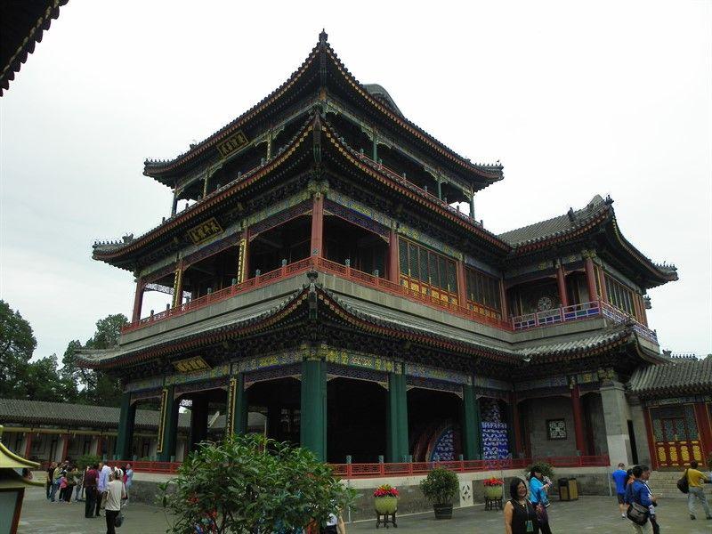jardin de la virtud y la armonia palacio de verano pekin