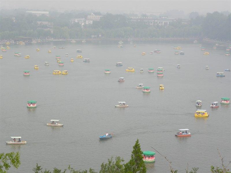 lago parque beihai