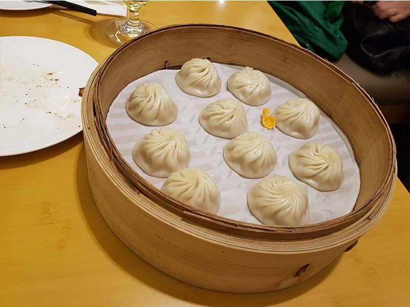 Cena en Din Tai Fung