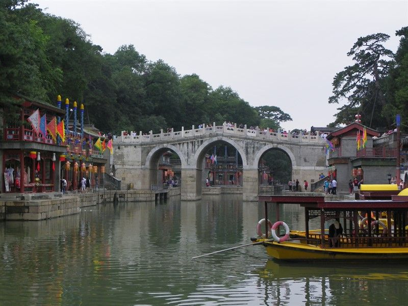 puente calle suzhou palacio de verano pekin