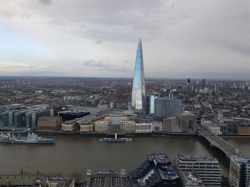 the shard desde skygarden