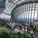 El SkyGarden, una vista panorámica en plena City de Londres