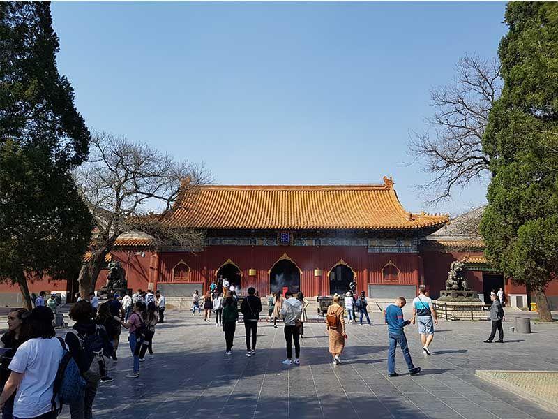 Templo de los Lamas, en Pekín