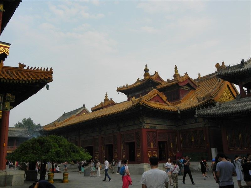 tejados templo lamas pekin