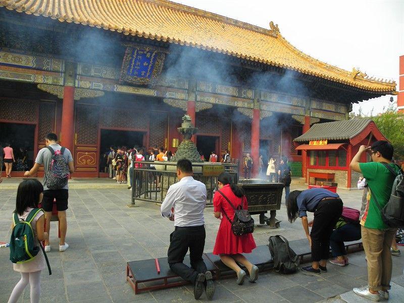 templo de los lamas pekin