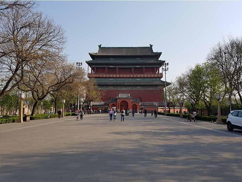 La Torre del Tambor de Pekín
