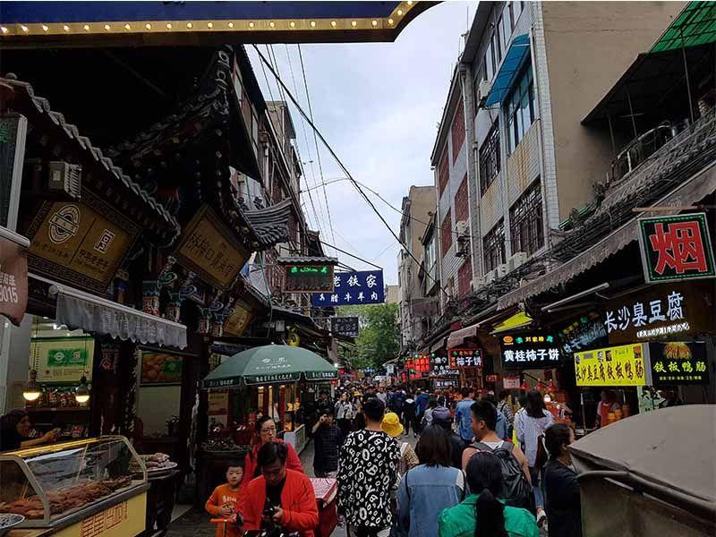Barrio musulmán de Xian