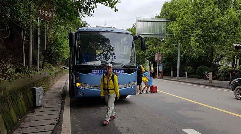Bus de Tongren a Fenghuang