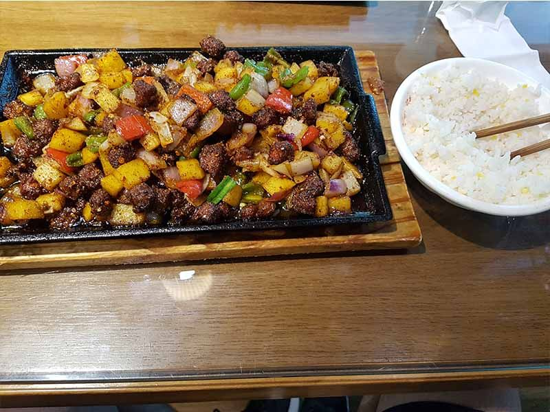 Comida en Chengdu