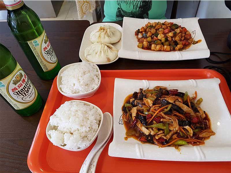 Comida tradicional china