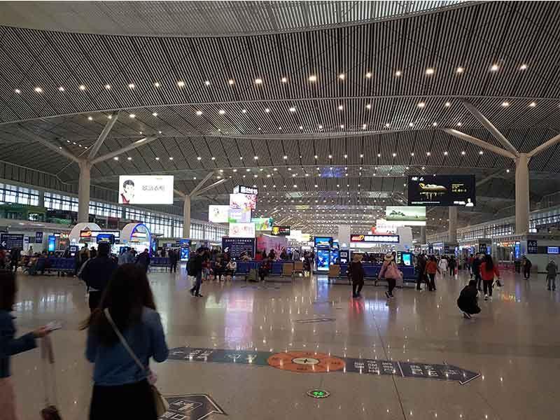 Estación norte de Xian