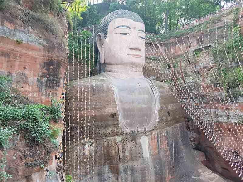 Excursión organizada para ir de Chengdu al Gran Buda de Leshán